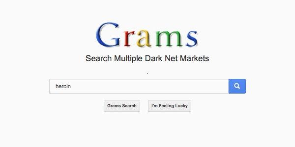 Поисковик Grams