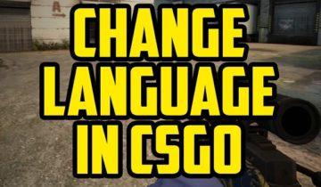 Изменить язык КС ГО