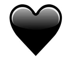 Чёрное сердце в ВК