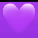 Фиолетовое сердце ВК