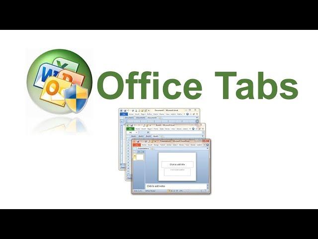 Заставка Office Tab