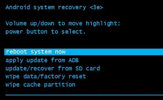 Пункт reboot system now