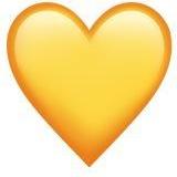 Жёлтое сердце ВК
