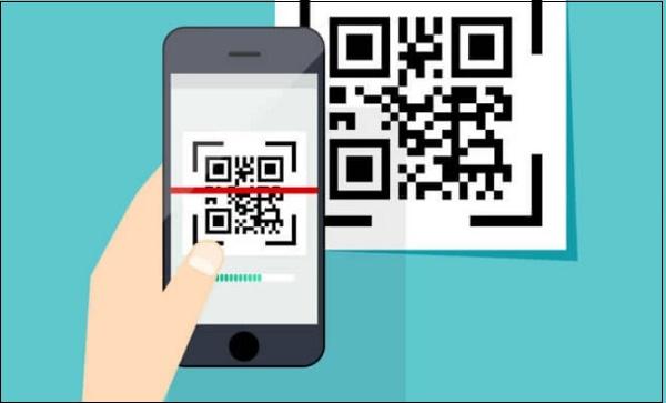 Иллюстрация сканирования QR-кода
