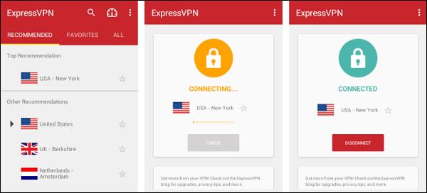 Приложение ExpressVPN
