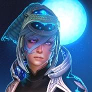 Девочка луна аватар Стим