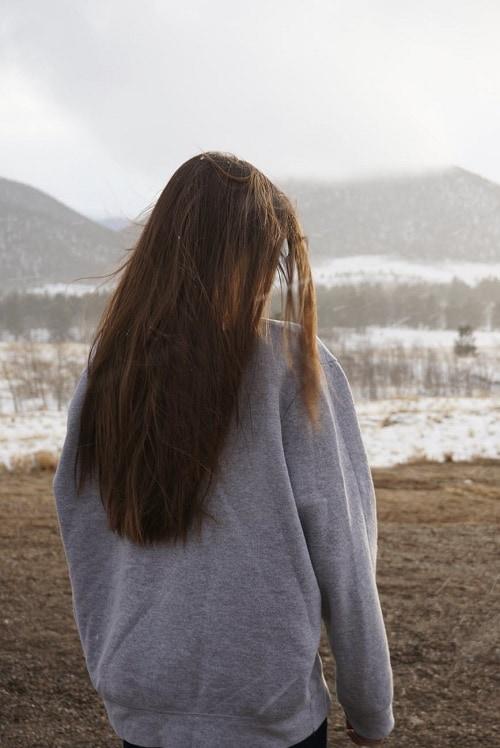Девушка со спины 11
