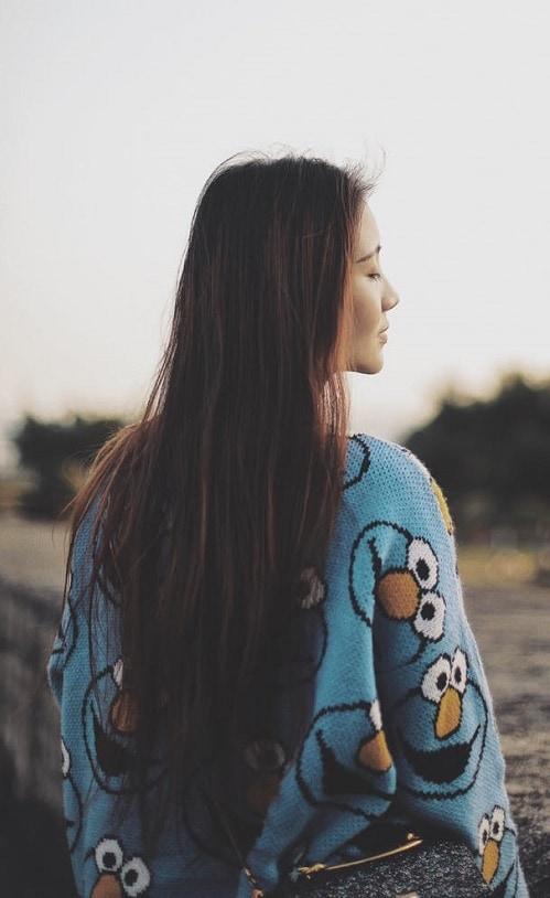Девушка со спины 17