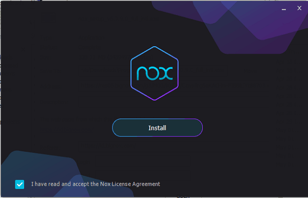 Nox App Player Install