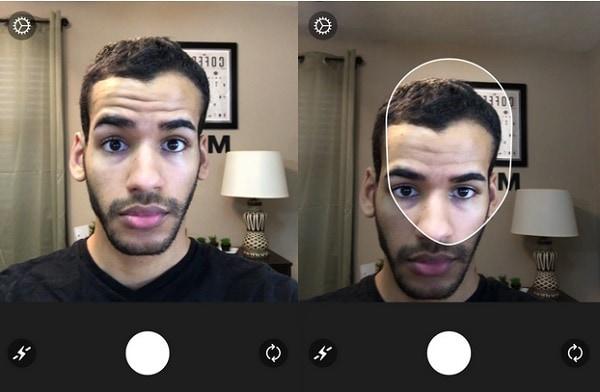 Лицо Faceapp