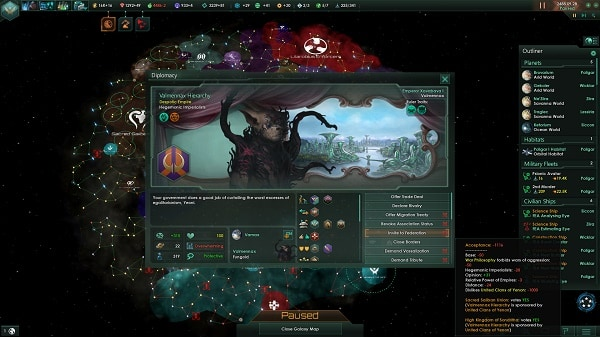 Фракция Stellaris