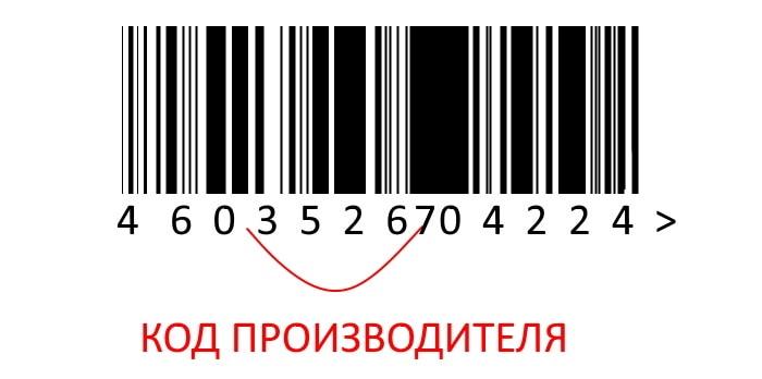 Код производителя