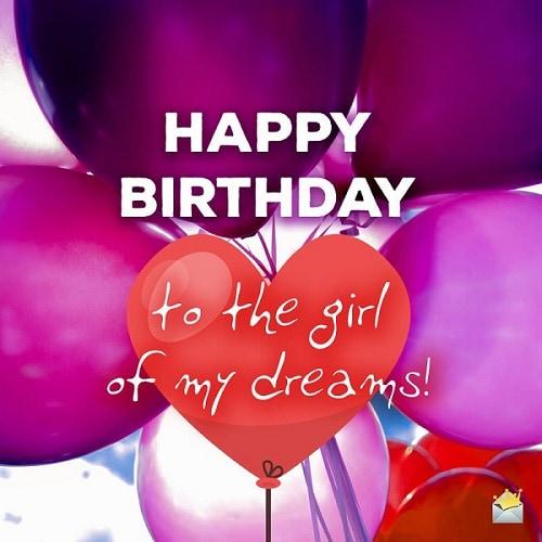 Happy Birthday открытка