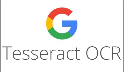 Tesseract OCR Гугл