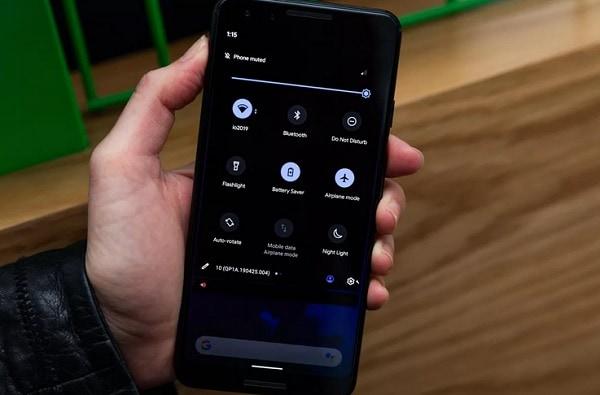 Dark Mode Андроид