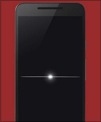 Иллюстрация отключения экрана