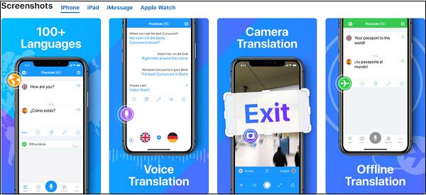 iTranslate приложение