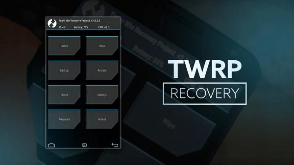 Картинка TWRP Recovery