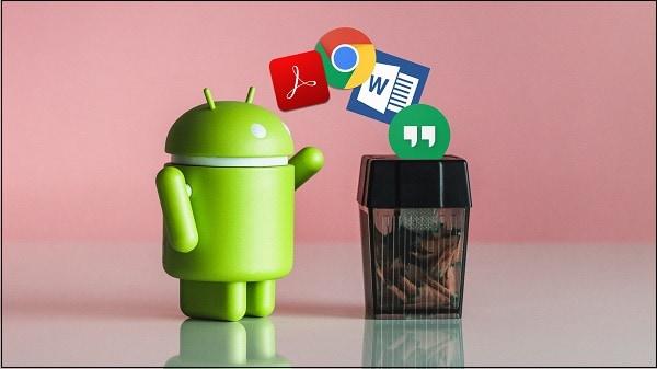 Удалите лишние приложения Андроид