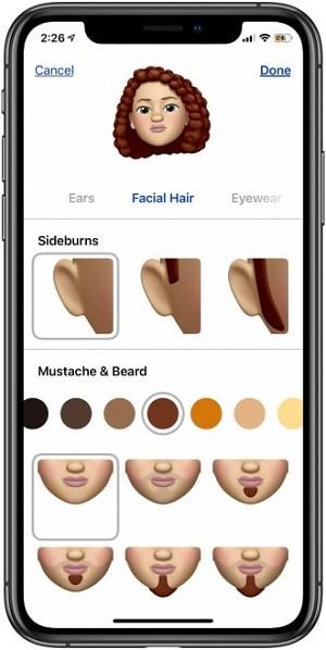Наличие волос на теле