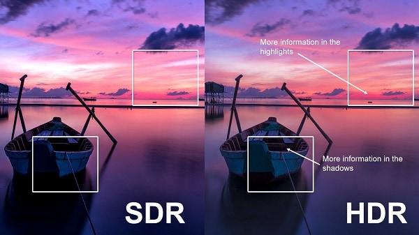 Использование HDR