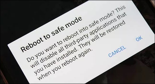 Телефон в безопасном режиме