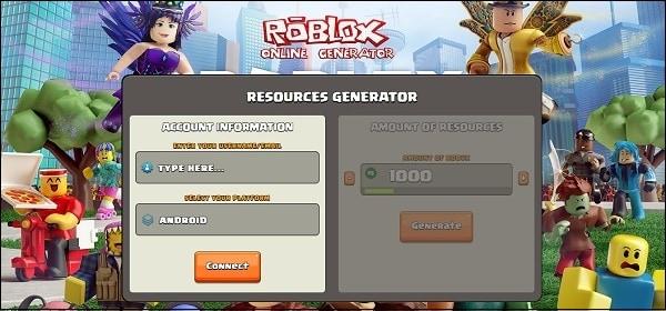 Roblox Online Generator