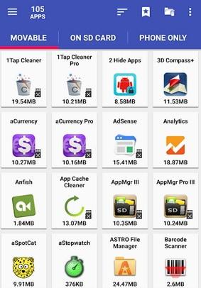 Скачайте AppMgr III