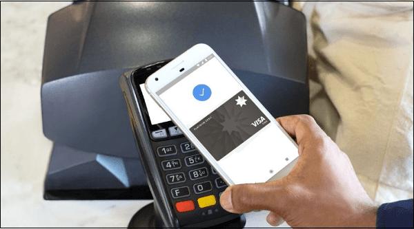 Галочка Google Pay