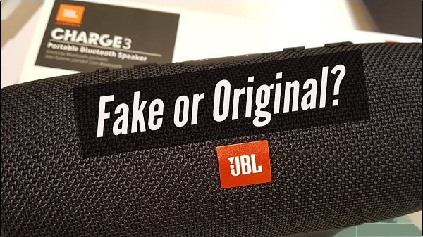 JBL подделка