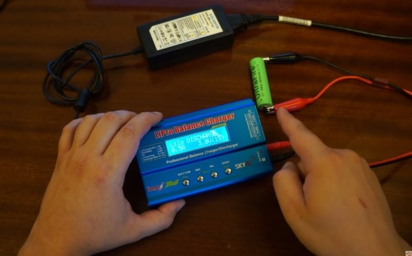 Подключение батареи к Imax B6