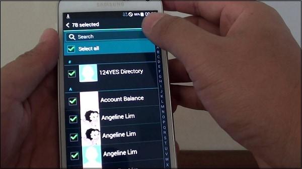 Копирование контактов телефона Самсунг на сим карту