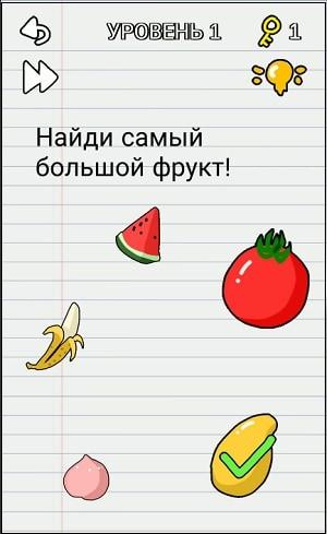 Жёлтый фрукт