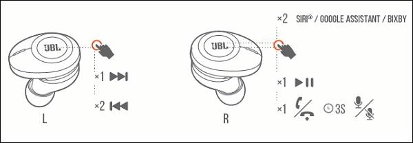 Управление JBL 120