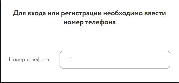 Ввод телефона на сайте