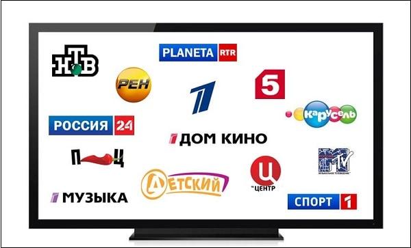 Русские телеканалы