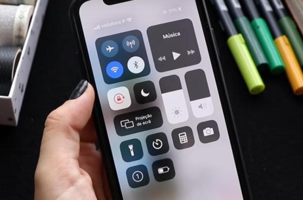 Включите запись экрана