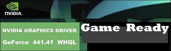 GeForce драйвер 441.41