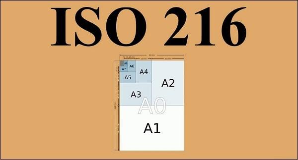 Стандарт ISO 216