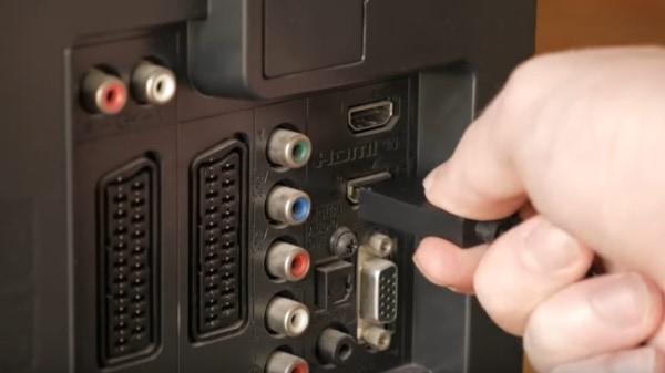 Подключение HDMI