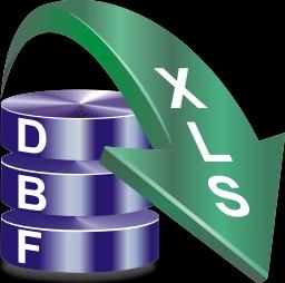 Из DBF в XLS