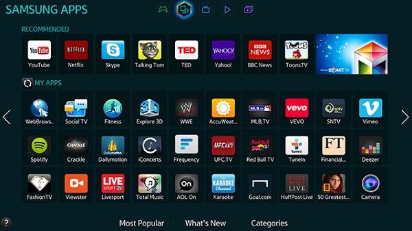 Приложения Samsung Apps