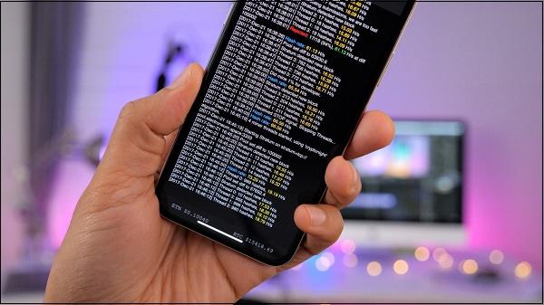 Мобильный майнер