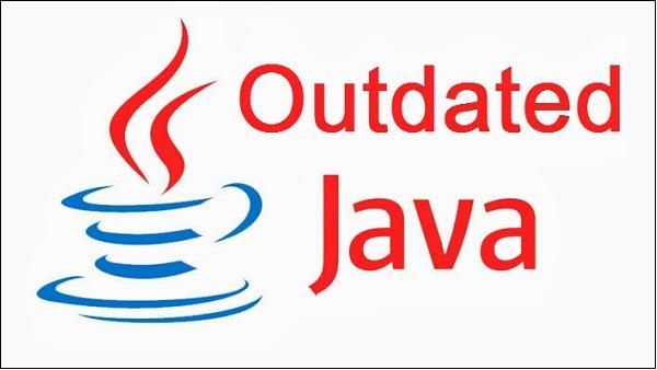Устаревшая версия Java