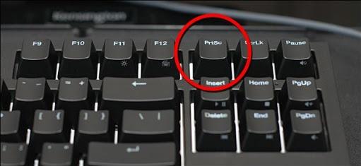 Кнопка PrtSc на клавиатуре