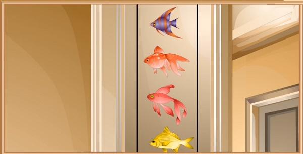 Код с помощью рыбок в игре