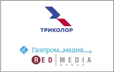 """Трансляция каналов """"Газпром Медиа"""" на Триколор"""