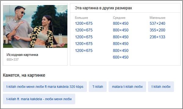 Результат Яндекс поиск