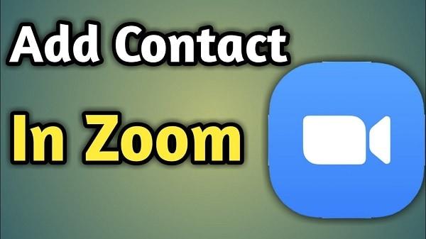 Добавление контакта в Zoom