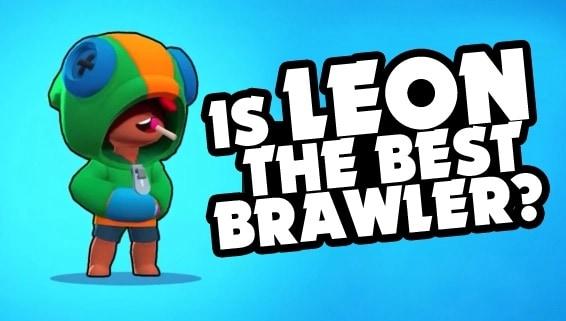 Леон самый сильный бравлер